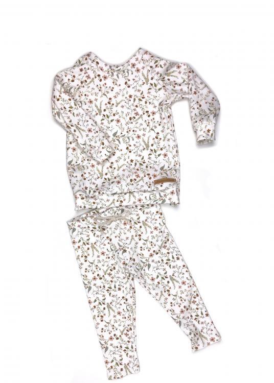 Outfit Rib Millefleur Shirt + Leggings