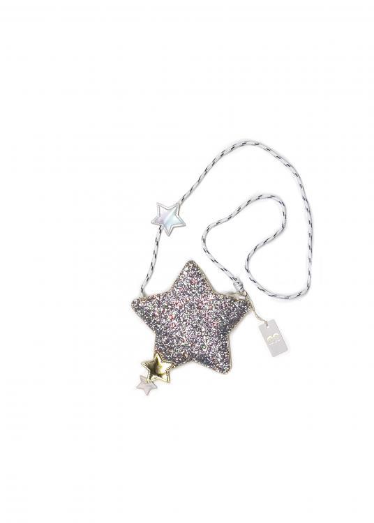 Mimi & Lula Glitzer-Handtasche ARCTIC STAR
