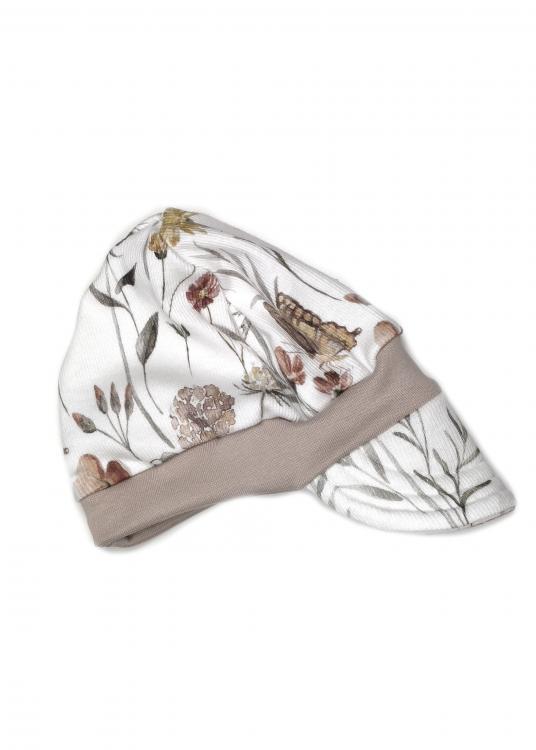 Sommermütze Rib Schmetterlinge pastell