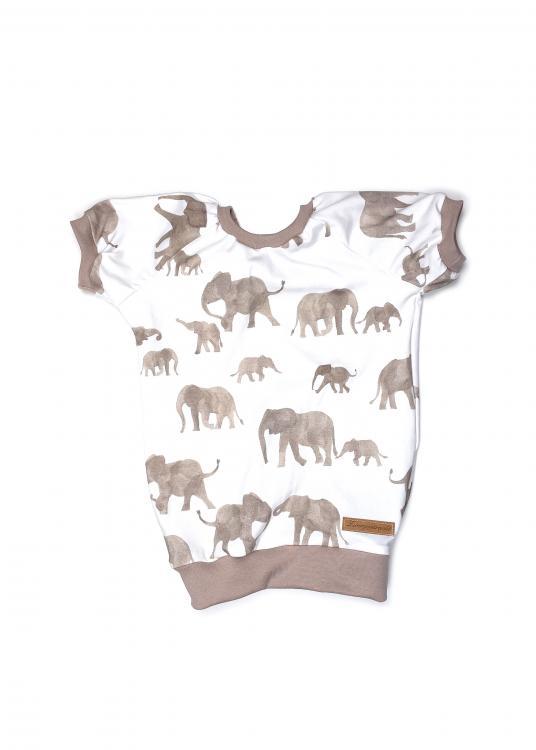 Shirt Elefanten beige