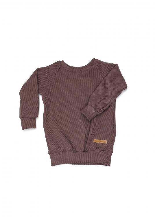 Shirt Basic Line Rib darkrose