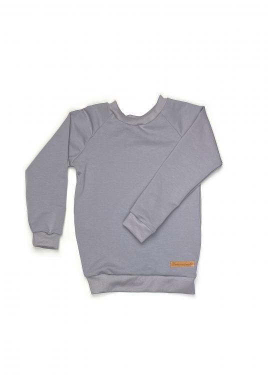 Shirt Basic Line grau  Jersey