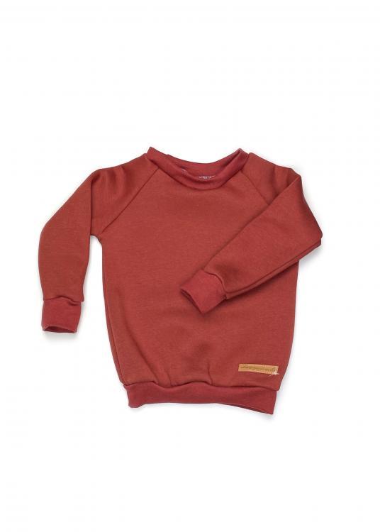 Shirt Basic Line Rost Kuschelsweat